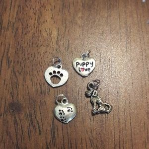 Jewelry - Puppy charms
